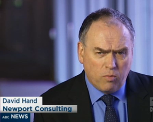 David Hand on ABC Lateline The Business, 30 July 2013 Tile